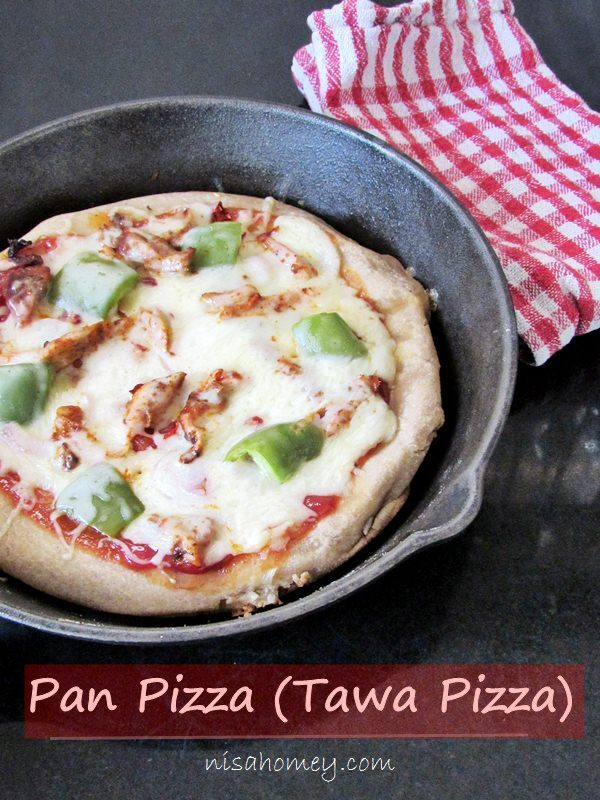 tawa pizza not in oven