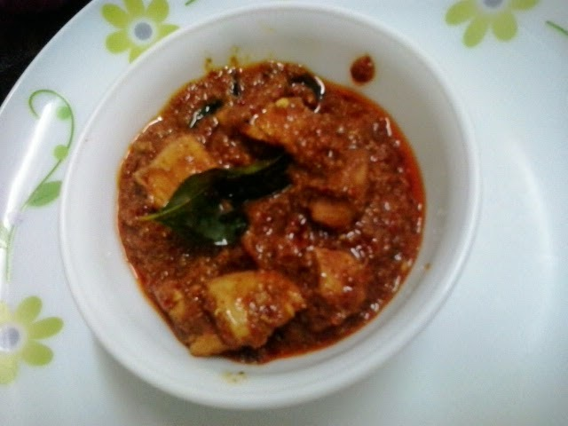 Mangalore chicken ghee roast recipe