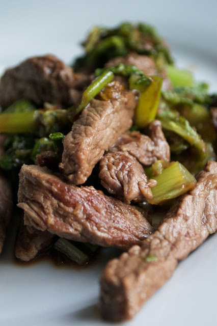 Honey Ginger Stir Fried Beef with Cabbage