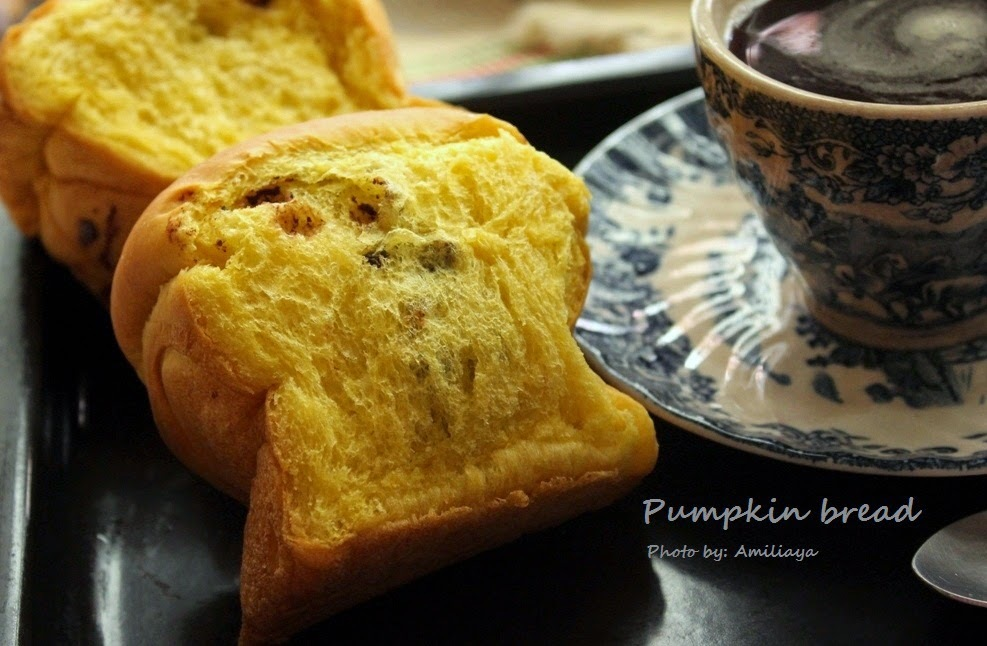 Pumpkin Bread 南瓜面包