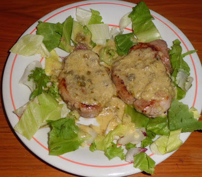 FILETTO DI VITELLO  IN SALSA ALLA SENAPE/VEAL FILLET WITH MUSTARD SAUCE