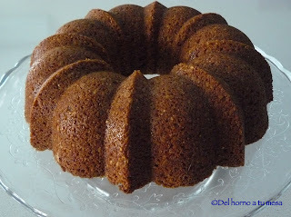 Bundt integral de cereales y semillas