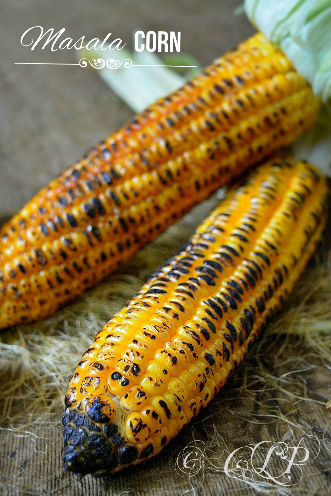 Roasted Masala Corn Chennai Beach Food | Spicy Corn on the cob with video