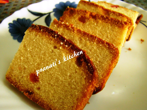 Eggless fruit cake: