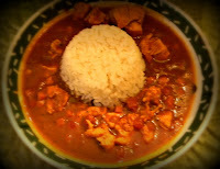 POLLO GUISADO CON CANELA (CINNAMON CHICKEN STEW)