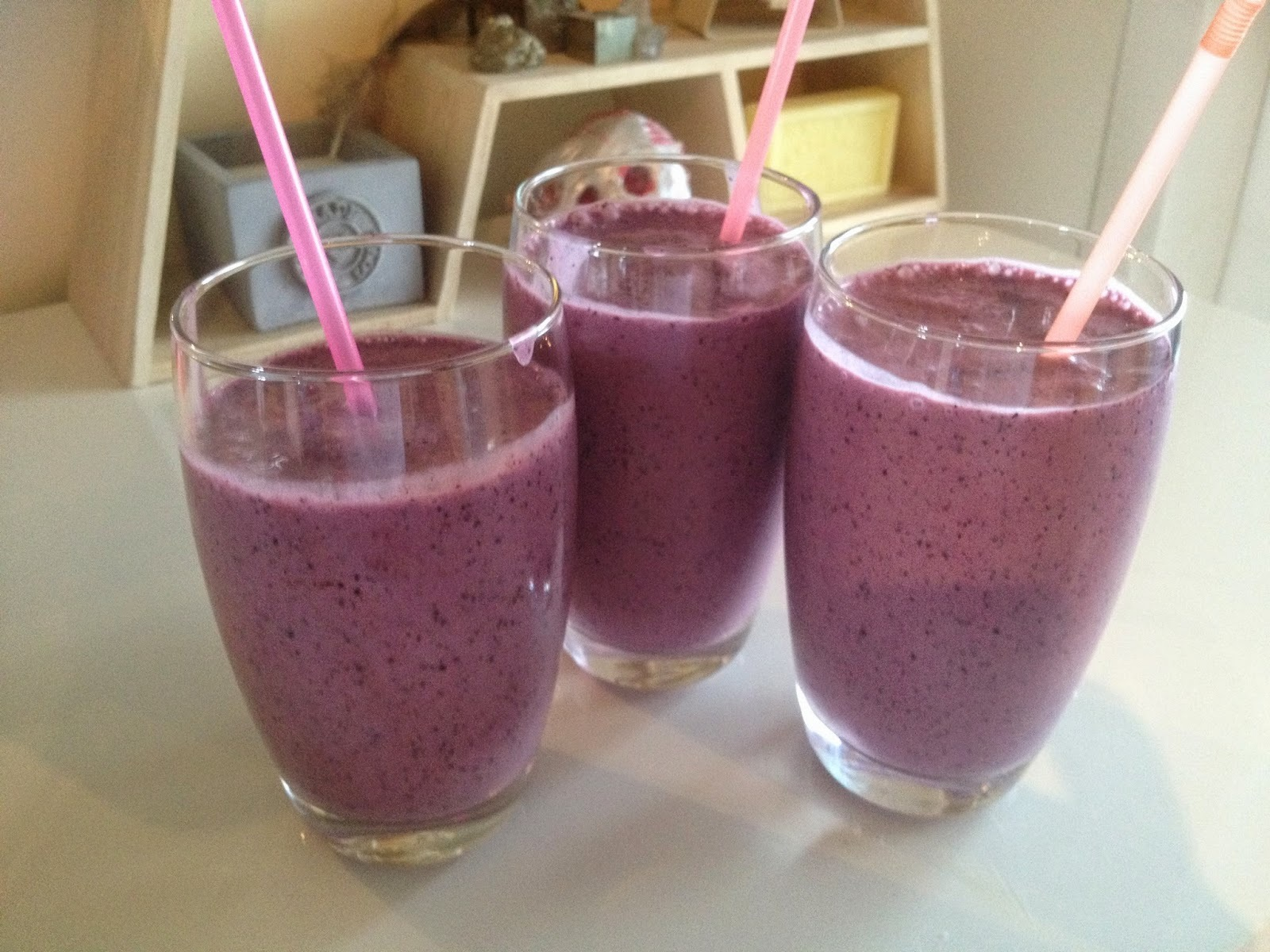 Smoothies en shakes