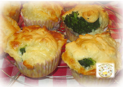 Muffin Broccoli E Scamorza