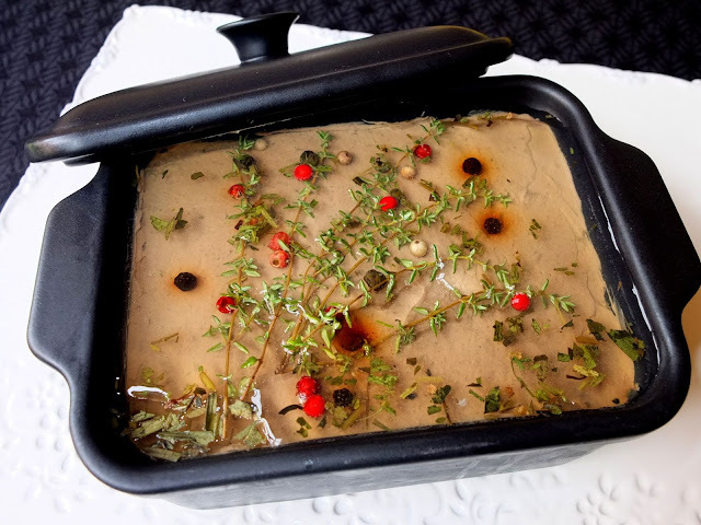 Terrina de higaditos de pollo