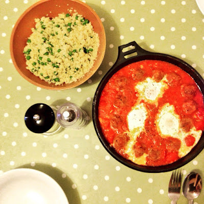 A Kind Of Moroccan Lamb & Egg Tagine