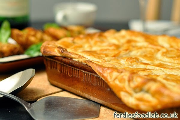 Recipe (leftovers): Turkey Pie, Celeriac and Potato Rösti, and Avocado Salad