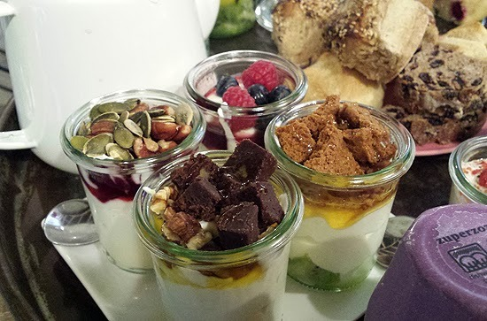 High Tea'en bij Yoghurt Barn