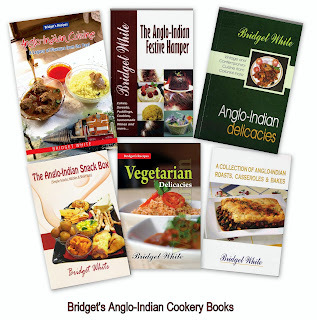 ANGLO-INDIAN RECIPE BOOKS - BRIDGET WHITE