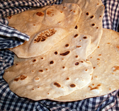 Tortillabröd med vete