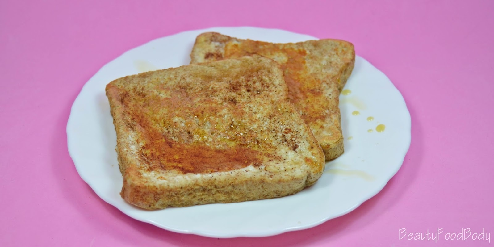Receta Fit | Fit French Toast (Torrijas Fit)