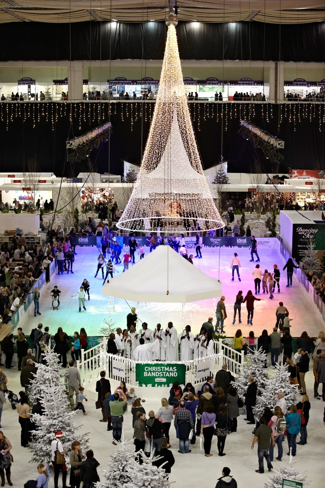 Give away tickets to Ideal Home Show Christmas 2014