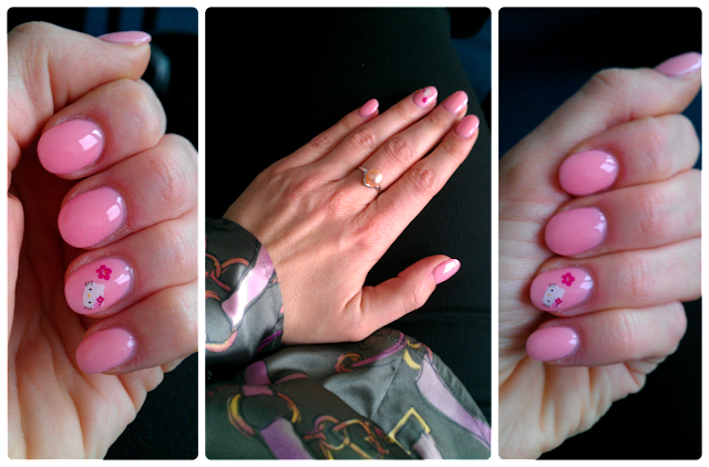 Nail Design: Hello Kitty