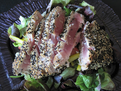 Sesame Seared Tuna with Asian Vinaigrette