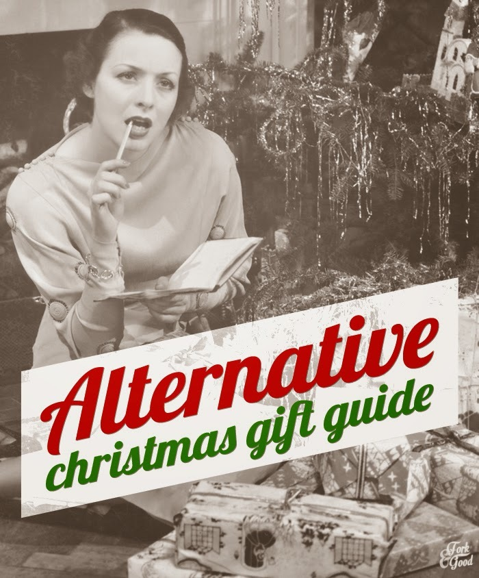 Alternative Christmas gift guide | TFIF