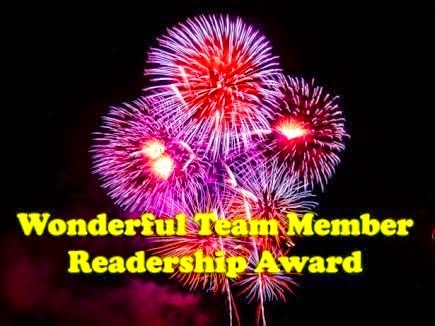 LA CUCHARITA SE LLEVA UN PREMIO: WONDERFUL TEAM MEMBER READERSHIP AWARD
