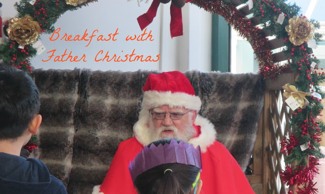 Breakfast with Father Christmas at Wyevale Garden Centre