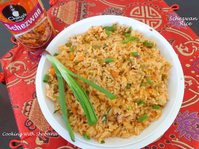SCHEZWAN RICE