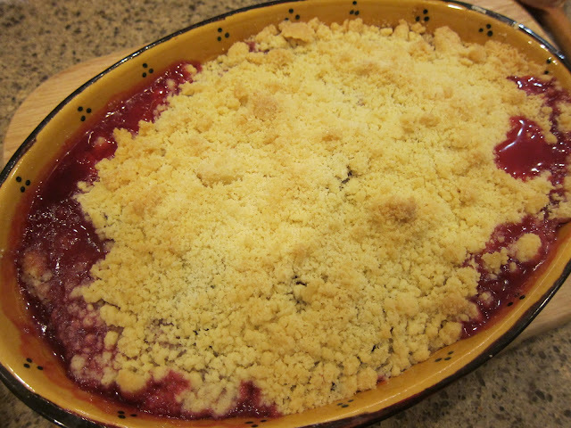 katie stewart apple crumble