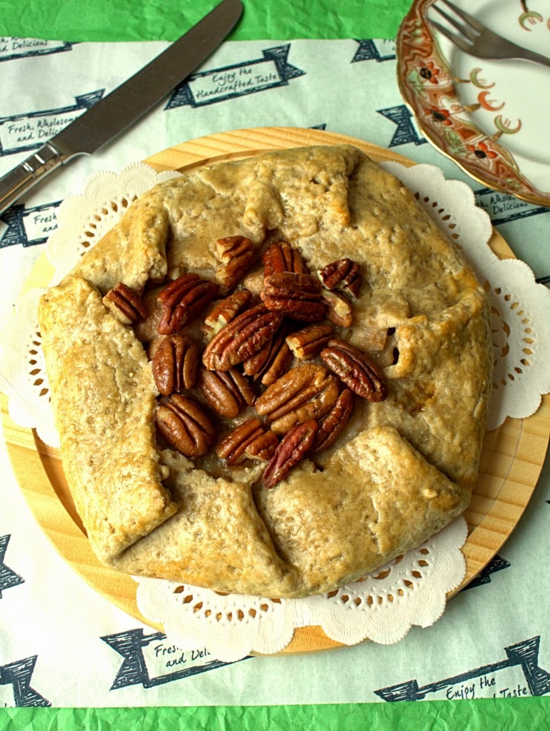 Pecan, Pear and Mincemeat Galette