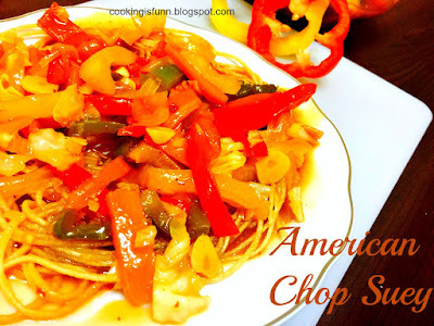 American Chop Suey (Indian Style)