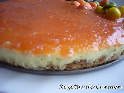 Tarta de queso y membrillo