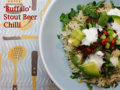 Buffalo Stout Beer Chilli, the Slow Cooker Challenge and a Giveaway