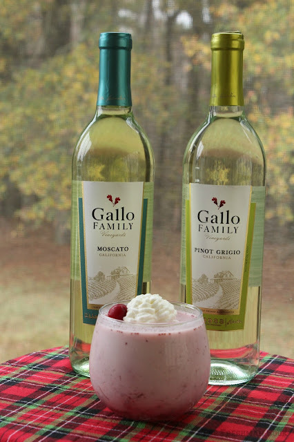 Cranberry Panna Cotta/#SundaySupper