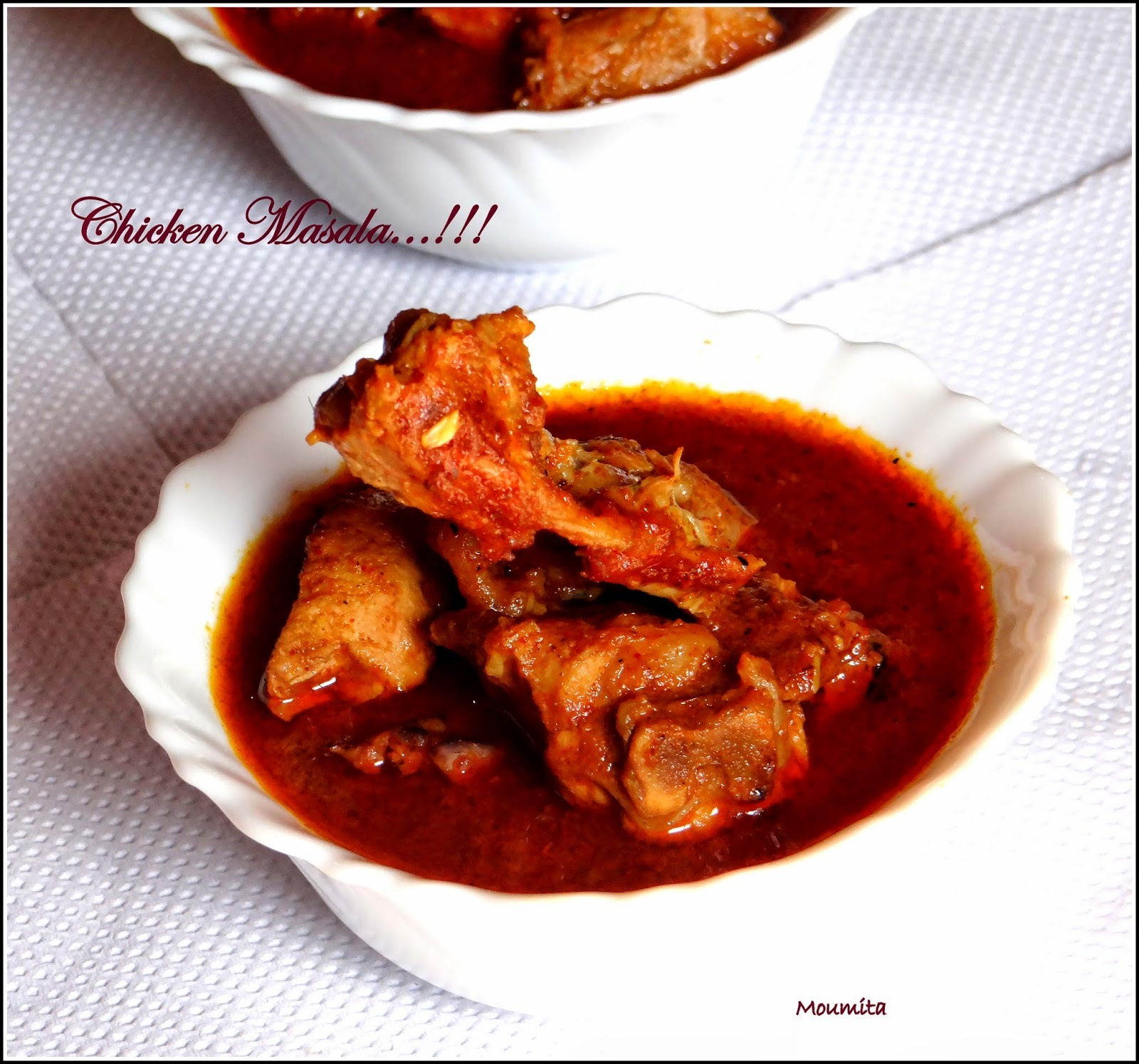 Bengali Style Spicy Chicken Curry....Bengali Wedding Style Chicken Curry.... Chicken Masala...!!!