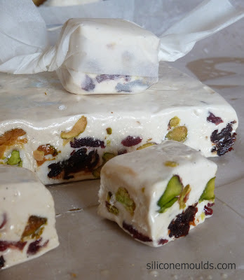 Honey, Vanilla & Pistachio Nougat
