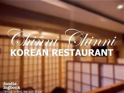 CHINNI CHINNI · Korean Restaurant