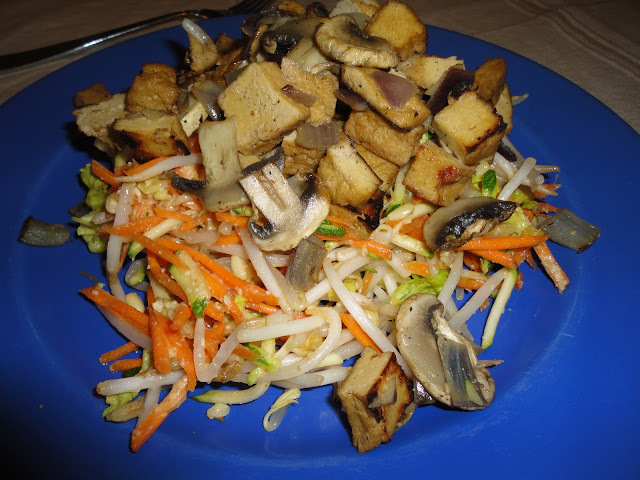 Raw Pad Thai with Tofu