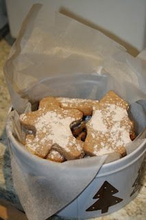 Christmas Cinnamon Shortbread - Low Sugar, suitable for diabetics