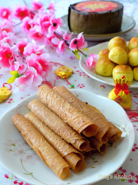 Kueh Belanda (Traditional Love Letters)