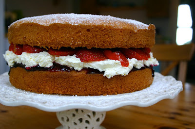 a village fete... a victoria sponge... a tea time treat