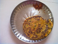 Mixed Rice Thalipeeth