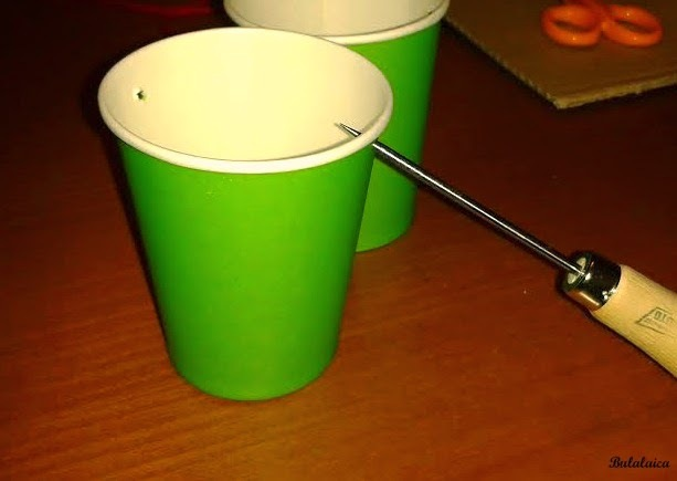 DIY: Calendario de Adviento con vasos