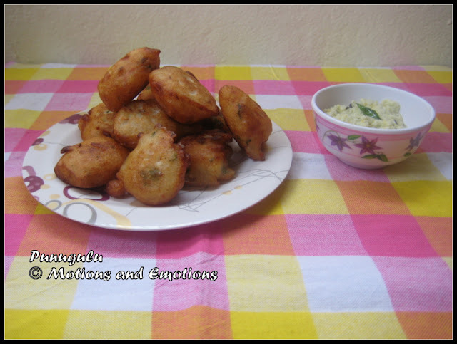 punugulu with idli batter