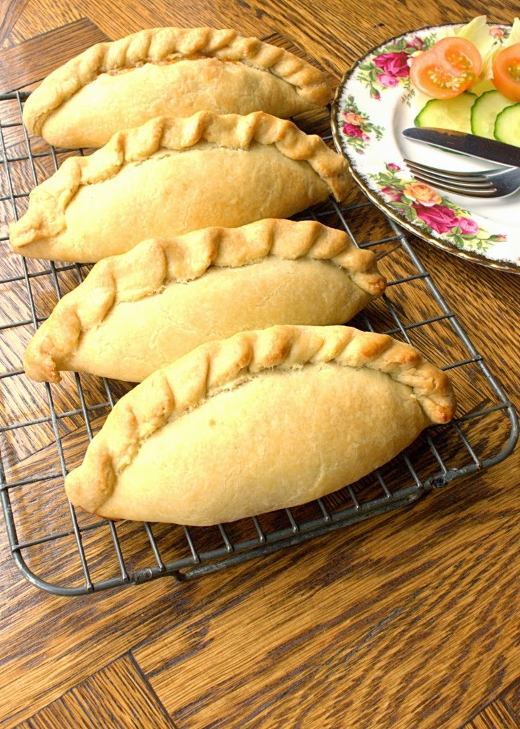 easy cheese and onion pasty