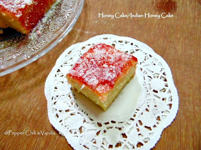 Honey Cake/ Indian Bakery Style Honey Cake Recipe.