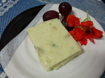 Maja Blanca with Avocado