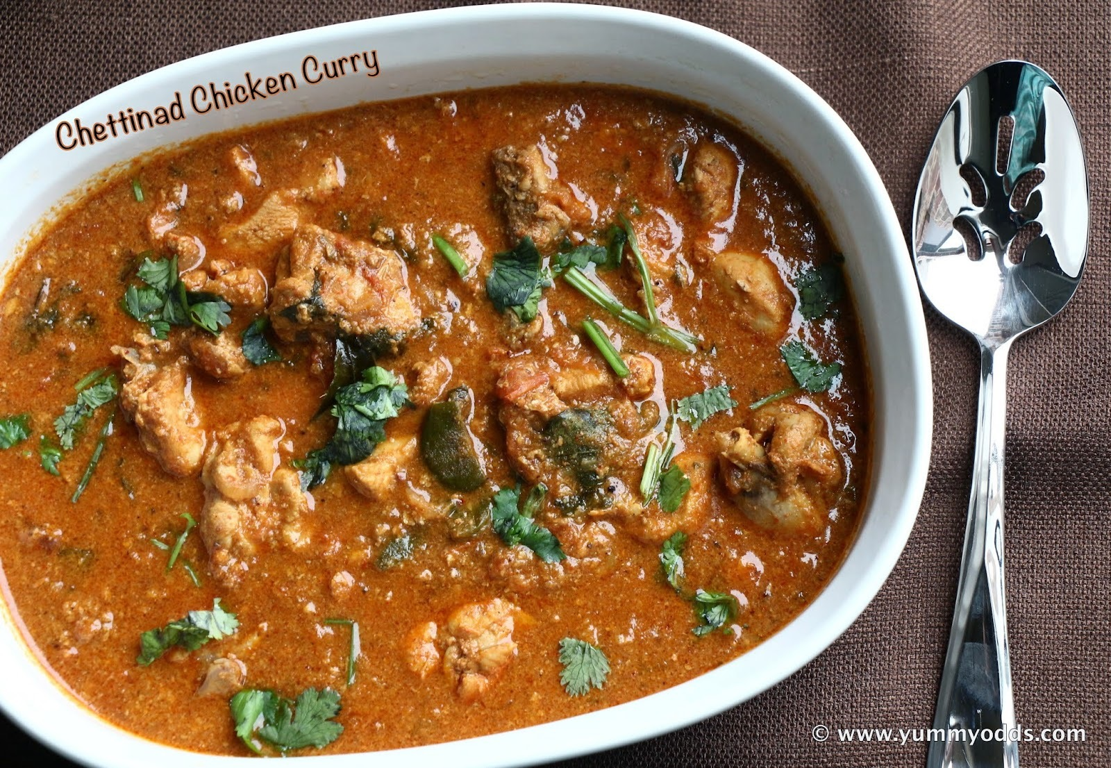 Chettinad Chicken Curry ~ (Step - by - Step)