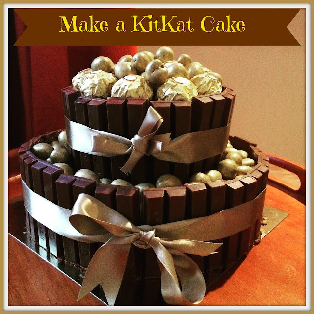 How To Make A Two Tier KitKat Cake
