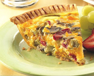 A Quick & Easy Summer Quiche