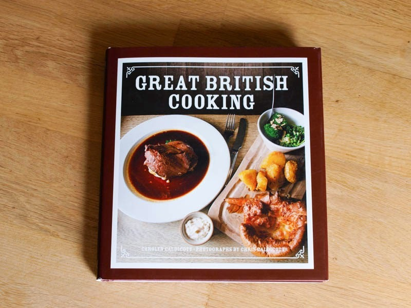 Great British Cooking, an 'English' Rarebit and a Giveaway