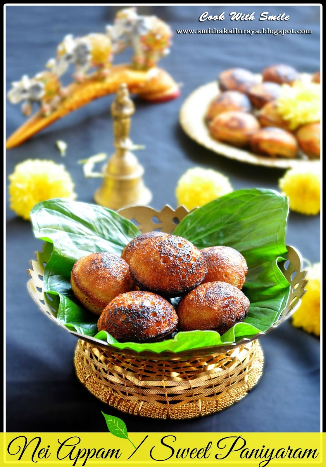 SWEET APPA / APPE RECIPE / NEI APPAM / SWEET PANIYARAM