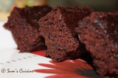 5-minute Eggless Microwave Chocolate Cake